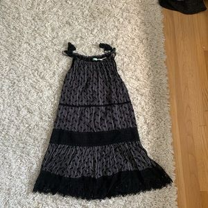 Urban outfitters size medium dress tie straps